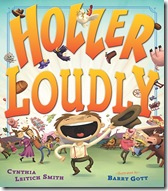 hollerloudly thumb Bumper crop of childrens titles by Austin area illustrators