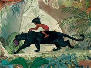 "Mowgli rides -- from Disney's ""The Jungle Book"""
