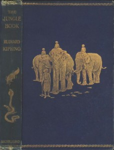 Original edition of The Jungle Book, vol. 1, illustrated by John Lockwood Kipling