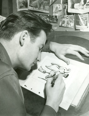 animator and children's book illustrator Bill Peet