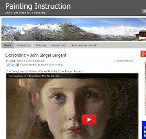 Drawings and portrait paintings by John Singer Sargent